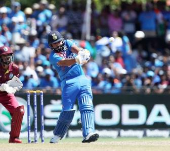 Rohit surpasses Gayle's six-hitting tally