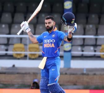 Kohli reflects on his cricket journey