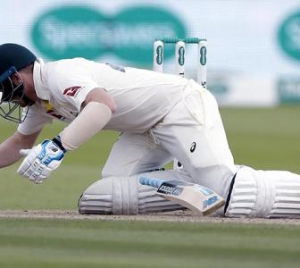 Smith ruled out of third Test after concussion injury