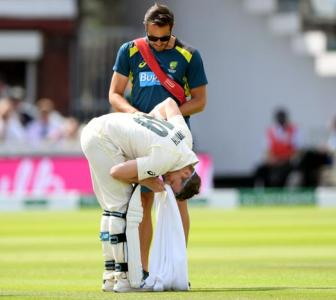 Australia's Smith ruled out of rest of Lord's Test