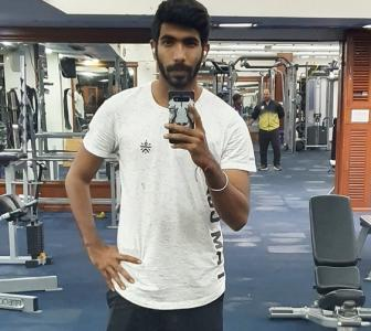 SEE: Bumrah starts training at MCA