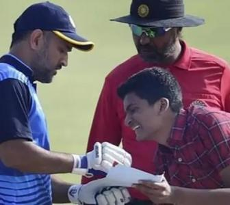 Meet Dhoni's fan who wants 183 autographs from his idol