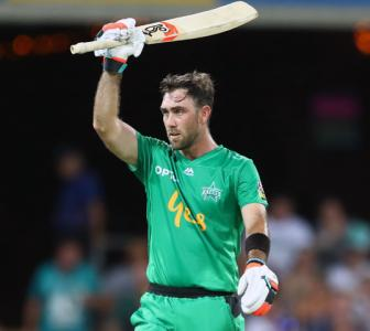'The Big Show': Maxwell smashes 39-ball 83 in BBL