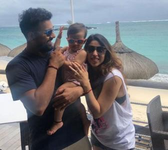 Rohit Sharma's daughter turns 1