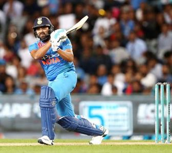 Double delight for record-setting Rohit