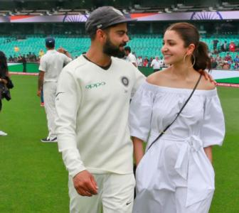 Anushka's special message for Kohli, Team India