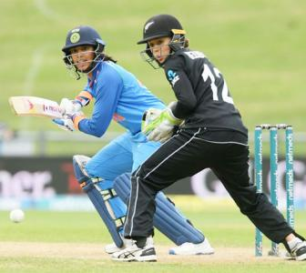 PIX: Mandhana, Rodrigues score big as India canter to win against NZ