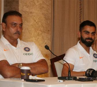 Will be very happy if Shastri continues as coach: Kohli