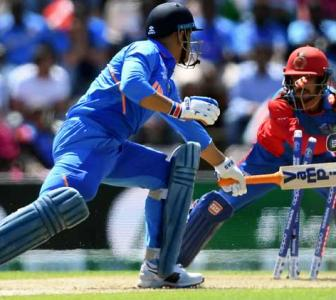 Dhoni faces fans' wrath after slow knock vs Afghans