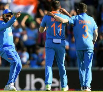 PHOTOS: India edge Afghanistan in last-over thriller