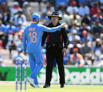 Kohli fined for excessive appealing in Afghanistan clash