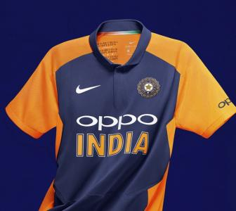First Look: Team India's new Orange and blue jersey
