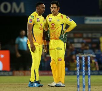 Bravo shares glimpse of his new song for Dhoni