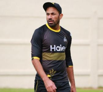 Misbah hints at Wahab's return to Test cricket