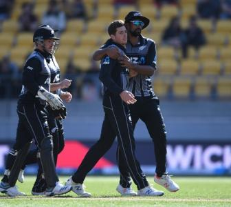 Santner helps NZ level series despite Jordan brilliance