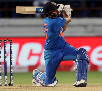 Rohit reveals the secret to hitting sixes