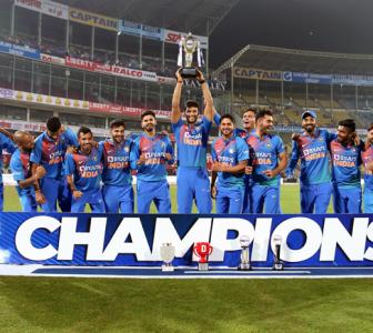 Rohit hails bowlers after series triumph