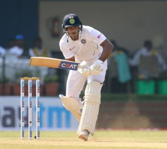 How Mayank Agarwal's appetite for runs grew