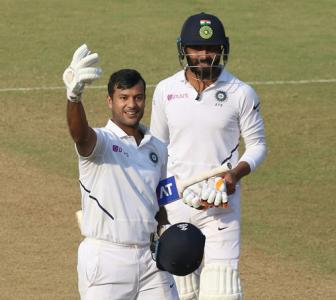 How Dravid helped Mayank Agarwal with his wisdom...