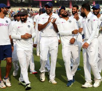 India continue record-breaking run in Tests