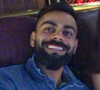 Kohli's movie date with this 'hottie'