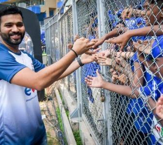 Find put how many brands Rohit Sharma is endorsing