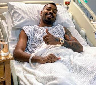 Hardik undergoes successful back surgery in London