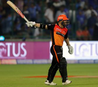Does Warner's sword celebration match up to Jadeja?