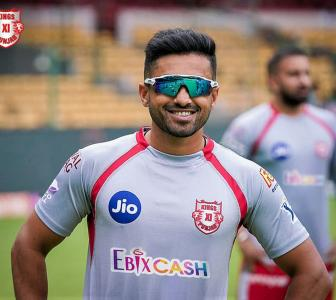 Karun Nair back in training after beating covid