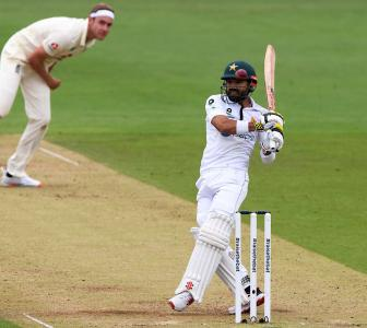 PIX: Rizwan hits fifty to frustrate England on Day 2