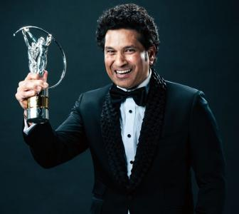 PIX: Tendulkar wins best Laureus sporting moment