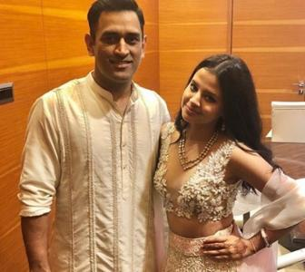 PIX: Sakshi and Dhoni, 10 happy years