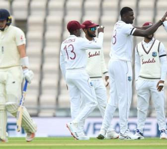PHOTOS: England vs West Indies, 1st Test, Day 2