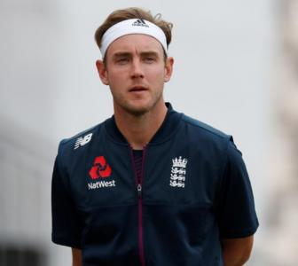 Broad 'frustrated, angry, gutted' after being dropped