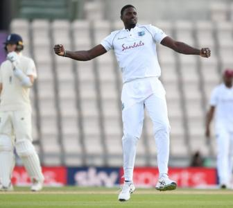 PHOTOS: Bowlers put Windies in commanding position