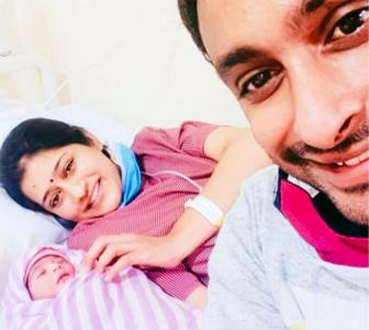 CSK batsman Rayudu blessed with a baby girl