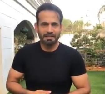 At whom was Irfan Pathan's tweet directed?