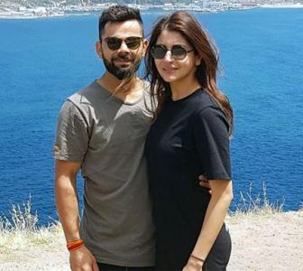 Now that's romantic, Anushka, Virat!