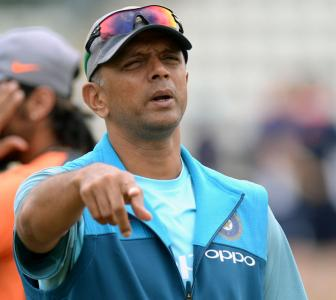 NCA chief Dravid to the rescue to India's U-19 players