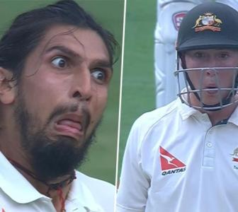 Here's what Ishant did to make Smith uncomfortable