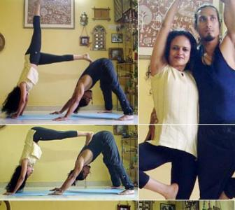 V-Day special: 5 great partner yoga poses