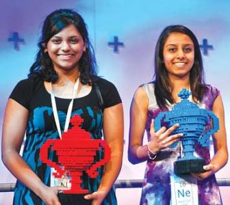 Meet the two winners of Google Science Fair