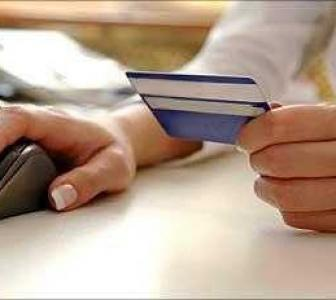 Go electronic to pay credit card bills
