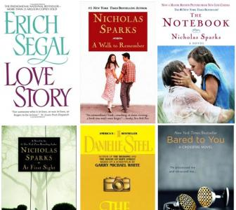 Top 7: My favourite romance novels