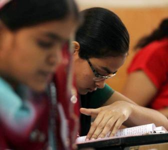 Students to give std 10, 12 board exam in their school