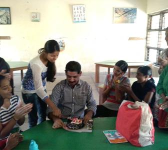 Thoughtful gift: NGO children surprised me on my birthday