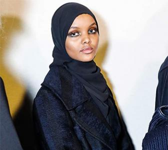 Refugee camp to runway: Halima Aden makes Milan debut
