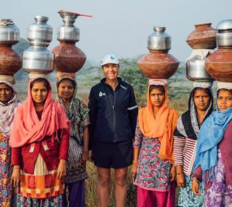 Wow! Mina Guli is running 100 marathons to save water