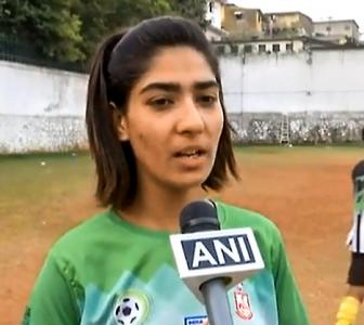 Meet Nadia Nighat, Kashmir's first female football coach