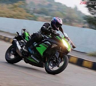 This Kawasaki Ninja is a good all-rounder...